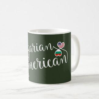 Bulgarian American Entwined Hearts Mug