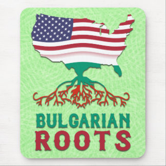 Bulgarian American Roots Mouse Pad