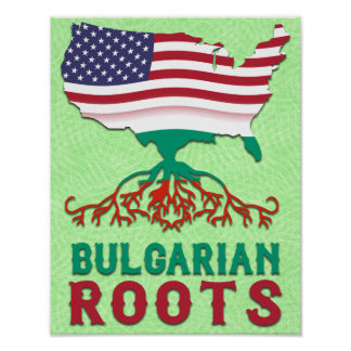 Bulgarian American Roots Poster