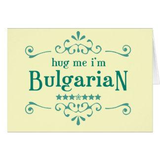 Bulgarian Card