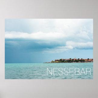 Bulgarian city Nessebar Poster