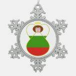 Bulgarian Flag Angel Ornament