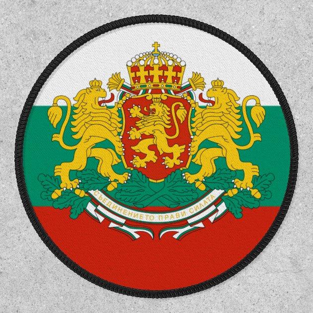 Bulgaria Flag Patch