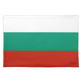 Bulgarian Flag on MoJo Placemat