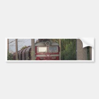 Bulgarian Freight Train Car Bumper Sticker