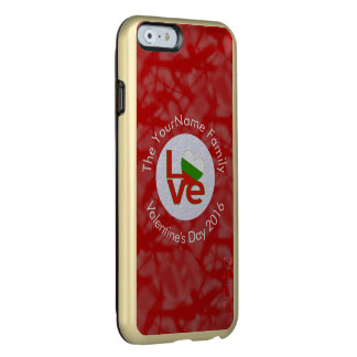 Bulgarian LOVE White on Red Incipio Feather Shine iPhone 6 Case