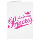 Bulgarian Princess Greeting Card