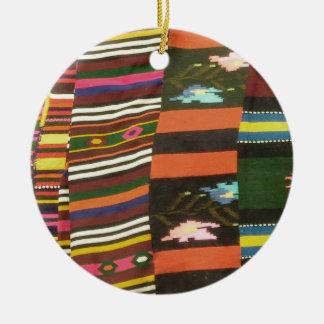 Bulgarian Rug/Cherga Ceramic Ornament