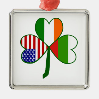 Bulgarian Shamrock Metal Ornament