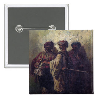 Bulgarian Soldiers 2 Inch Square Button