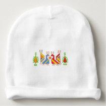 Bulgarian Traditional Art  Baby Cotton Beanie