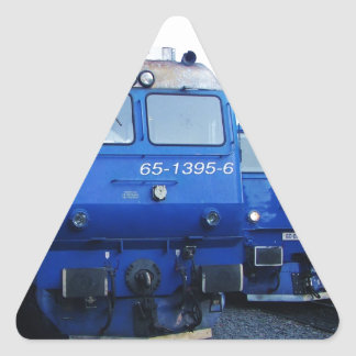Bulgarian Train. Triangle Sticker