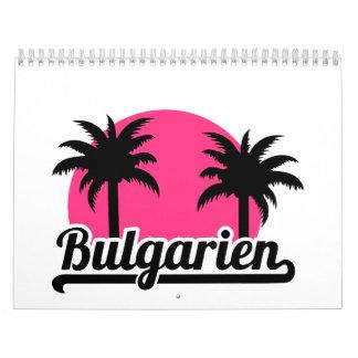 Bulgarien Wall Calendar