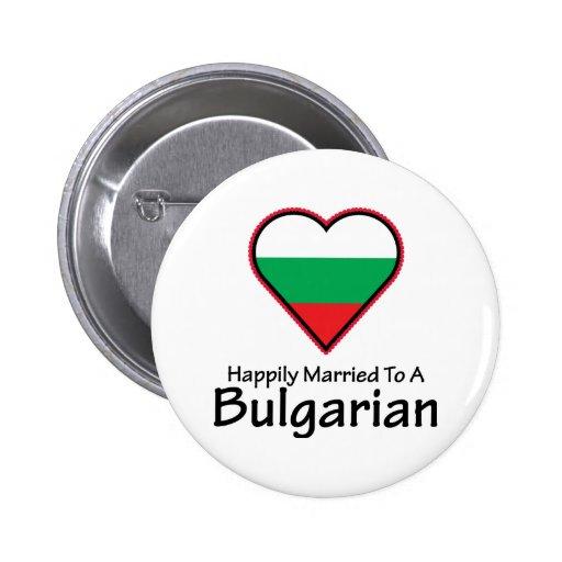 Búlgaro feliz casado pin