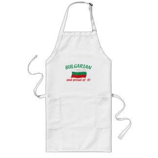 Búlgaro orgulloso delantal