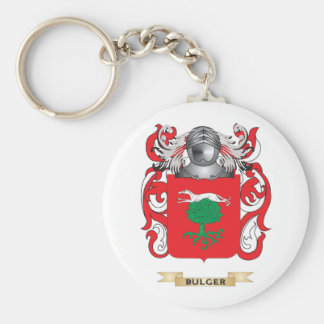 Bulger Coat of Arms (Family Crest) Key Chain