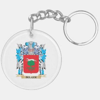 Bulger Coat of Arms Acrylic Keychains
