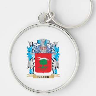 Bulger Coat of Arms Keychain