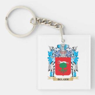 Bulger Coat of Arms Acrylic Keychain