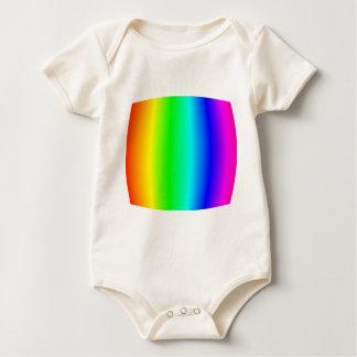 Bulging Rainbow Romper