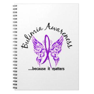 Bulimia de la mariposa 6,1 libros de apuntes con espiral
