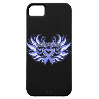 Bulimia Nervosa Awareness Heart Wings iPhone SE/5/5s Case