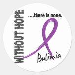Bulimia sin la esperanza 1 pegatinas