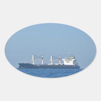 Bulk Carrier EGS CREST Oval Sticker