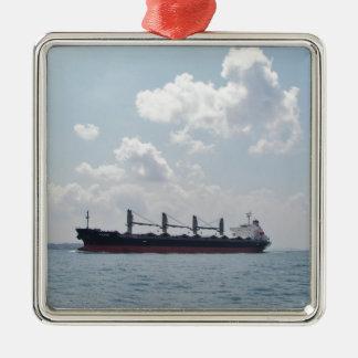 Bulk Carrier Padre Metal Ornament