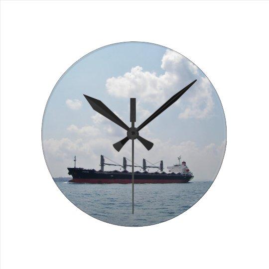 Bulk Carrier Padre Round Clock