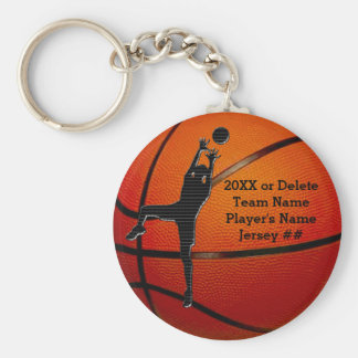 BULK Cheap Personalized Basketball Keychains Kids