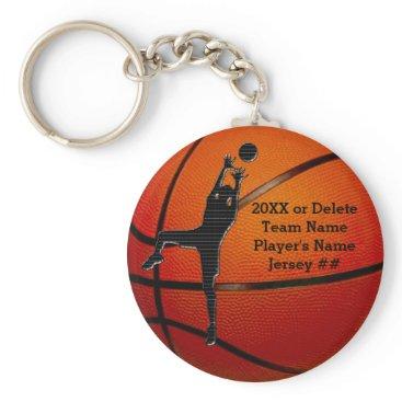 LittleLindaPinda BULK Cheap Personalized Basketball Keychains Kids