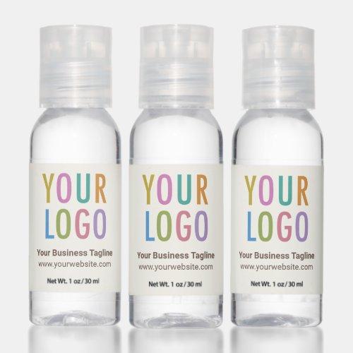 Bulk Hand Sanitizer Favors Promotional Logo Ecru