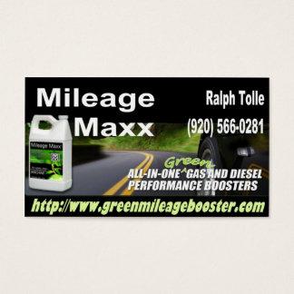 BULK MILEAGE MAXX BUSINESS CARD