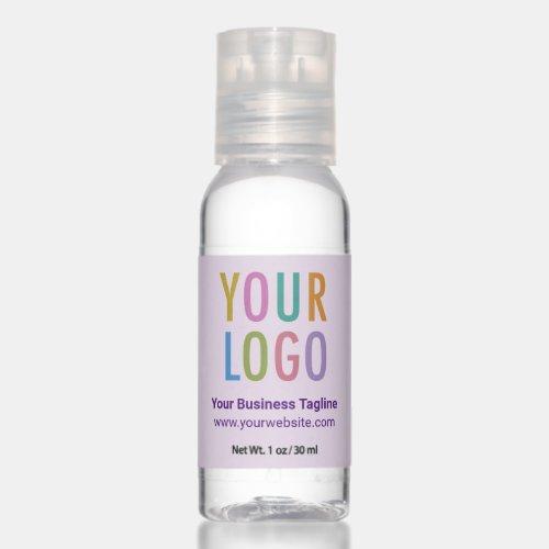 Bulk Travel Hand Sanitizer Promotional Logo Purple