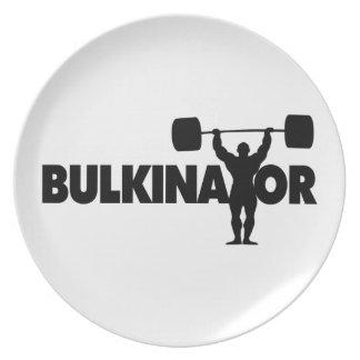 Bulkinator Melamine Plate
