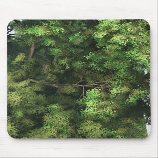 Bulky conifer tree mousepad