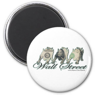 Bull-1 2 Inch Round Magnet