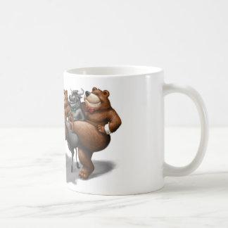 Bull and Bear Kickers Coffee Mug