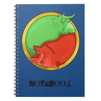 bull and bear notebook