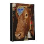Bull and bell iPad folio case