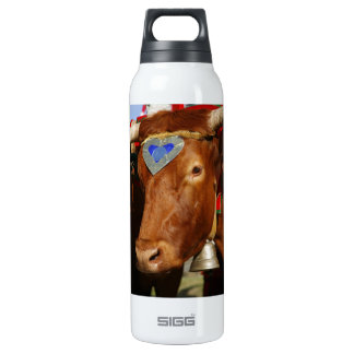 Bull and bell 16 oz insulated SIGG thermos water bottle