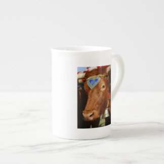 Bull and bell tea cup