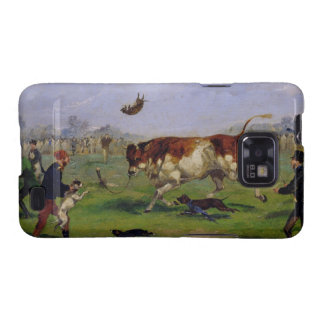 Bull Baiting (oil on paper laid on panel) Galaxy S2 Case