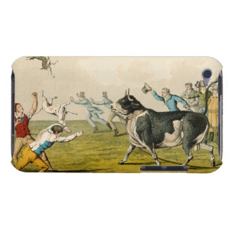 'Bull Baiting', pub. by Thomas McLean, 1820, (prin iPod Touch Case