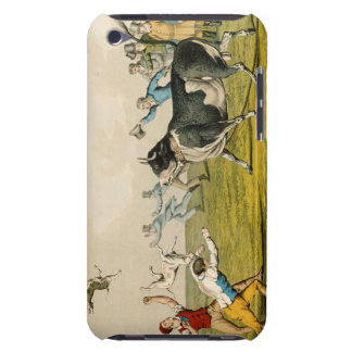 'Bull Baiting', pub. by Thomas McLean, 1820, (prin iPod Touch Cover