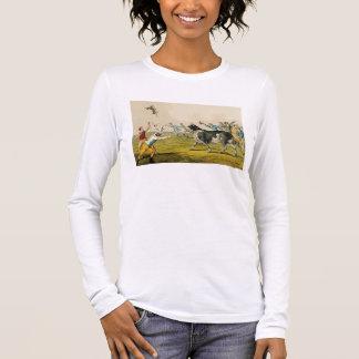 'Bull Baiting', pub. by Thomas McLean, 1820, (prin Long Sleeve T-Shirt