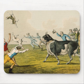 'Bull Baiting', pub. by Thomas McLean, 1820, (prin Mouse Pad