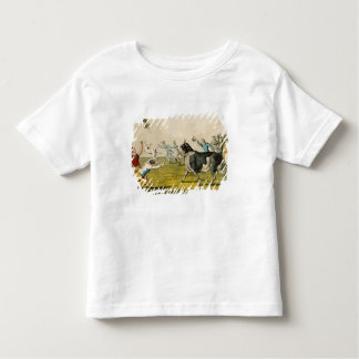 'Bull Baiting', pub. by Thomas McLean, 1820, (prin Toddler T-shirt