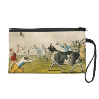 'Bull Baiting', pub. by Thomas McLean, 1820, (prin Wristlet Purse